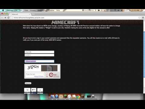 How to change your username minecraft 1 7 5 1 8