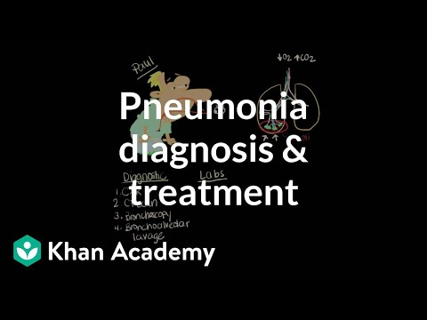 Pneumonia diagnosis and treatment | Respiratory system diseases | NCLEX-RN | Khan Academy