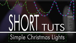 Simple Christmas Lights In After Effects