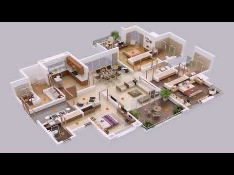 3 Bedrooms Small House Design