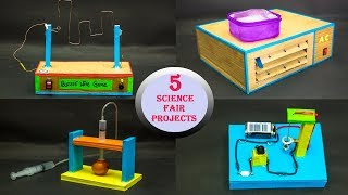 Download 5 Science Fair Projects Video