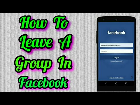 How To Leave A Group On Facebook In Mobile