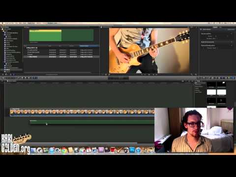 Editing & Syncing Video Files + Music - Using Final Cut Pro X & Logic Pro 9