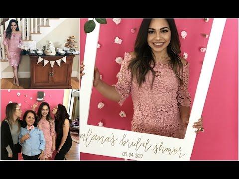 Bridal Shower Vlog 3.4.2017