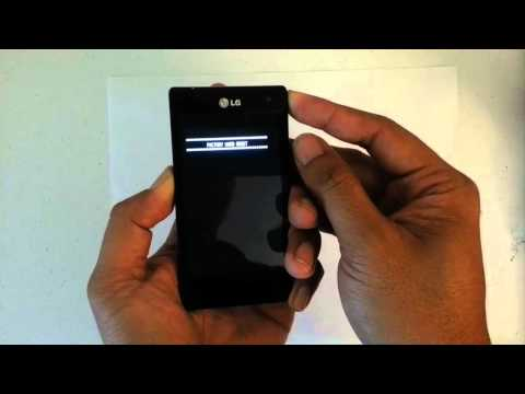 How to Factory Restore Hard Reset or Password Wipe the LG Lucid Verizon