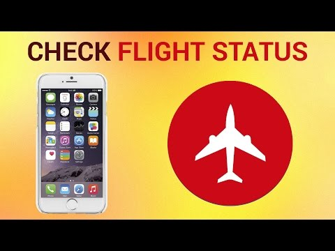 How to Check Flight Status via iPhone and iPad