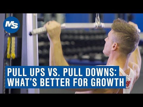 Lat Pull Downs Vs Pull Ups: Which One Builds A Bigger Back? (ft. Scott Herman)