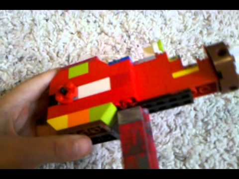 lego life size ray gun prototype