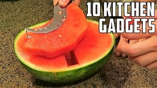 10 AMAZING Kitchen Gadgets You Should Try!