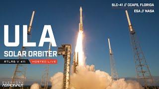 Watch NASA / ESA Launch Solar Orbiter LIVE in Florida!!!