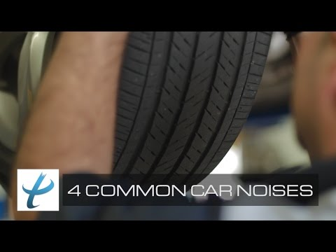4 Most Common Car Noises - Avoid Costly Automotive Repairs (NEW)