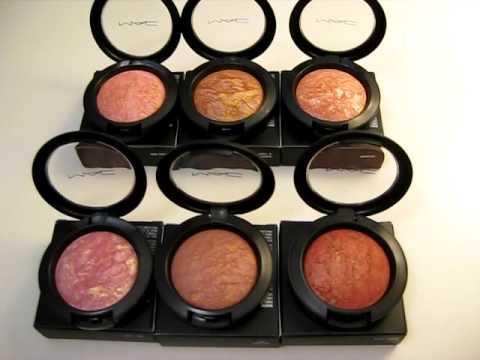 MAC Colour Craft Haul Part 3 (MAC Mineralized Blushes)