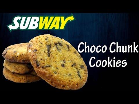 Make Choco Chunk Cookies like Subway ( India ) | Choco chip cookies | Simply yummylicious
