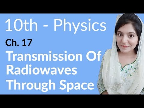 10th Class Physics Ch 17,Transmission of Radiowaves Through Space -Matric Part 2 Physics Chapter 17