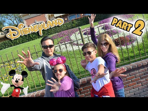 KIDS CAN'T DRIVE!!! Back for More Fun at Disneyland!