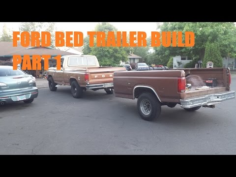 Building a Bed Trailer Part 1