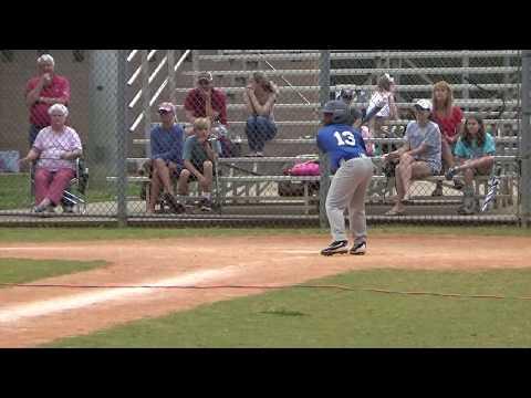 Jace's Little League Baseball Team, The Kings!! First Home Run!!