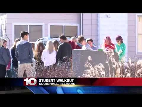 Marshall Schools Walkout
