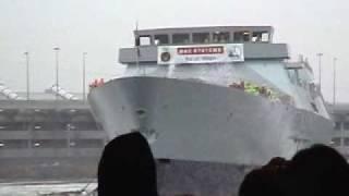 HMS Daring (D32) Type 45 Destroyer Launch (2006)