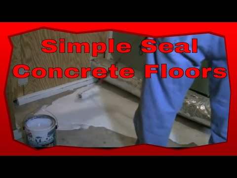 How To Seal Concrete Floors The Fast And Easy Way