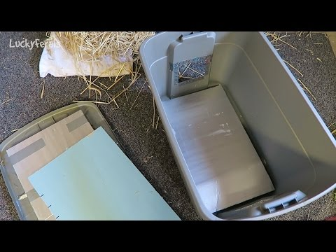 Insulating The DIY Feral Cat Shelter For Winter