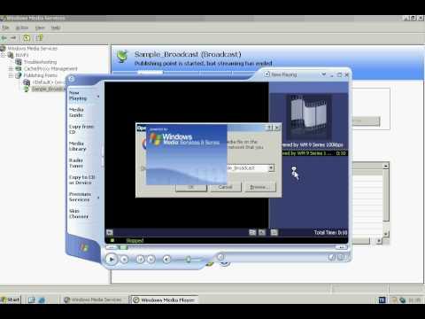 Windows Server 2003 - Streaming Media Server Configuration I