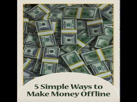 [Audiobook] 5 Simple Ways to Make Money Offline