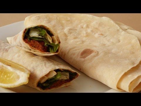 Flour Tortilla Recipe | Lavash Bread