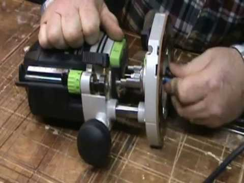 Video making fluted dentil molding with my Festool router setup.