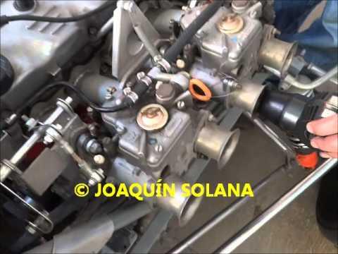 Solana 2000 c.c. 16 V. Ajuste - balanceo Webers 40 DCOE