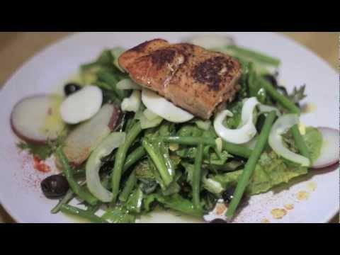 Planet of Food episode 18 Salmon Niçoise Salad