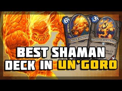 Hearthstone - Best Shaman Deck in Un'Goro