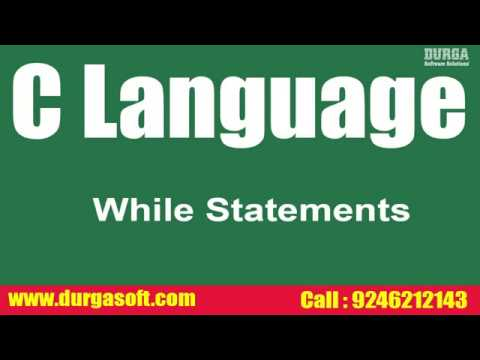 RealTime Faq`s On C Language || while Statements  by Santoshi