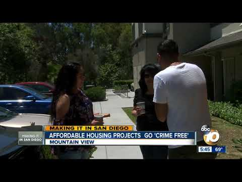 Making It In San Diego: Affordable housing projects go 'crime free'