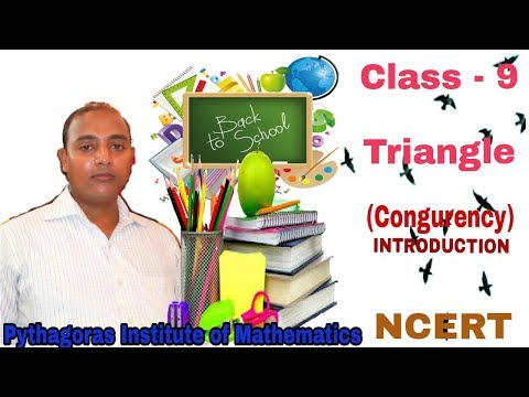 Class 9 TRIANGLES (Congruency) Introduction