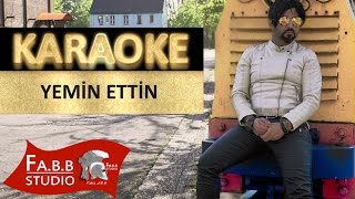 Cankan Yemin Ettin Karaoke ( Instrumental Karaoke with Lyrics )