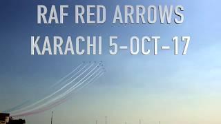 RAF Red Arrows Karachi Pakistan