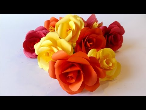 How to Make a Paper Rose with Easy Step-by-step Instructions