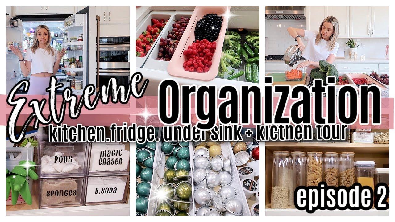 *NEW* EXTREME ORGANIZATION EPISODE 2 // KITCHEN ORGANIZATION + TOUR // TIFFANI BEASTON HOMEMAKING