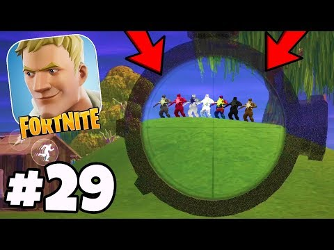 V4.0 is SUPER Buggy! NEW Glitches, Bugs, Mobile Hackers! - Fortnite Mobile Battle Royale #29
