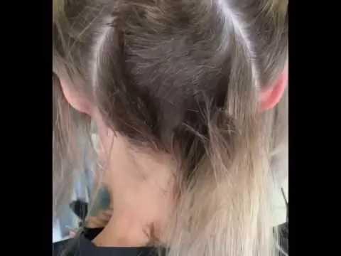 Hair Makeover - Long to Undercut Bob Haircut