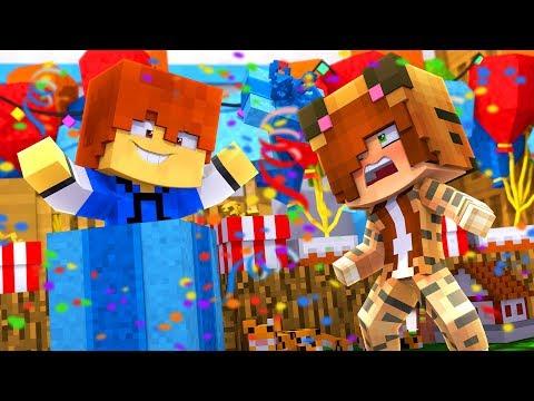 Minecraft Daycare - BIRTHDAY SURPRISE ! (Minecraft Roleplay)