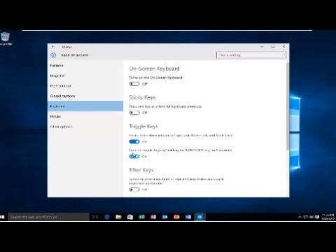 How To Turn Cap Lock Indicator Beep Sound On Or Off In Windows 10