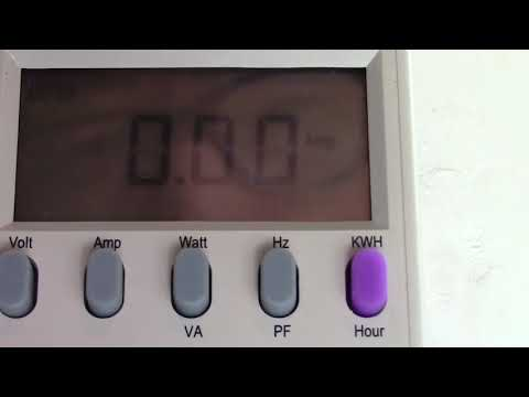 Kill A Watt Electricity Usage Monitor and Meter Introduction with Voltage Drop