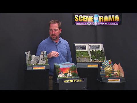 Base and Backdrop - School Project | Scene-A-Rama