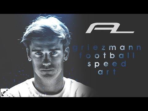 Antoine Griezmann Football Design - Photoshop Edit