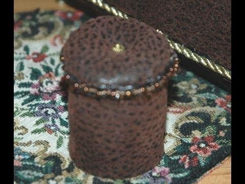 Footstool How to Make a Miniature 1:12 Foot Stool Ottoman