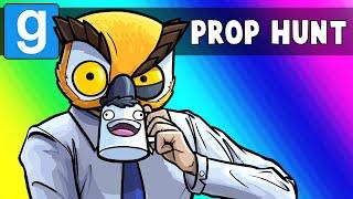 GMod Prop Hunt Funny Moments - Vanoss, Tax Accountant! (Garry