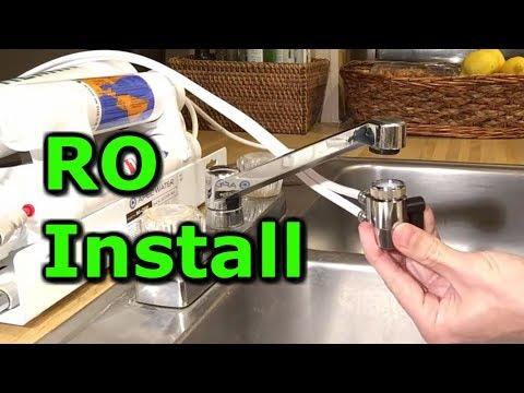 Countertop RO best drinking water filter purifier installation portable alkaline water filter