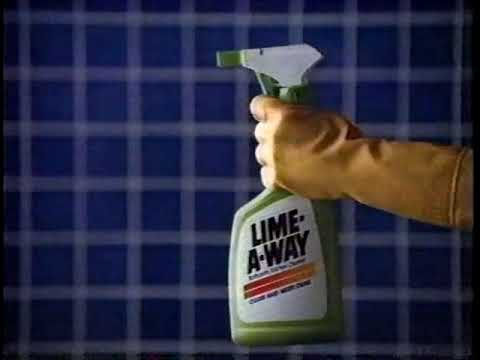 Lime-A-Way Cleaner 80s Commercial (1988)